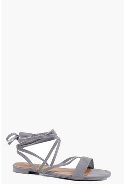 Vanessa Strappy Lace Up Sandal