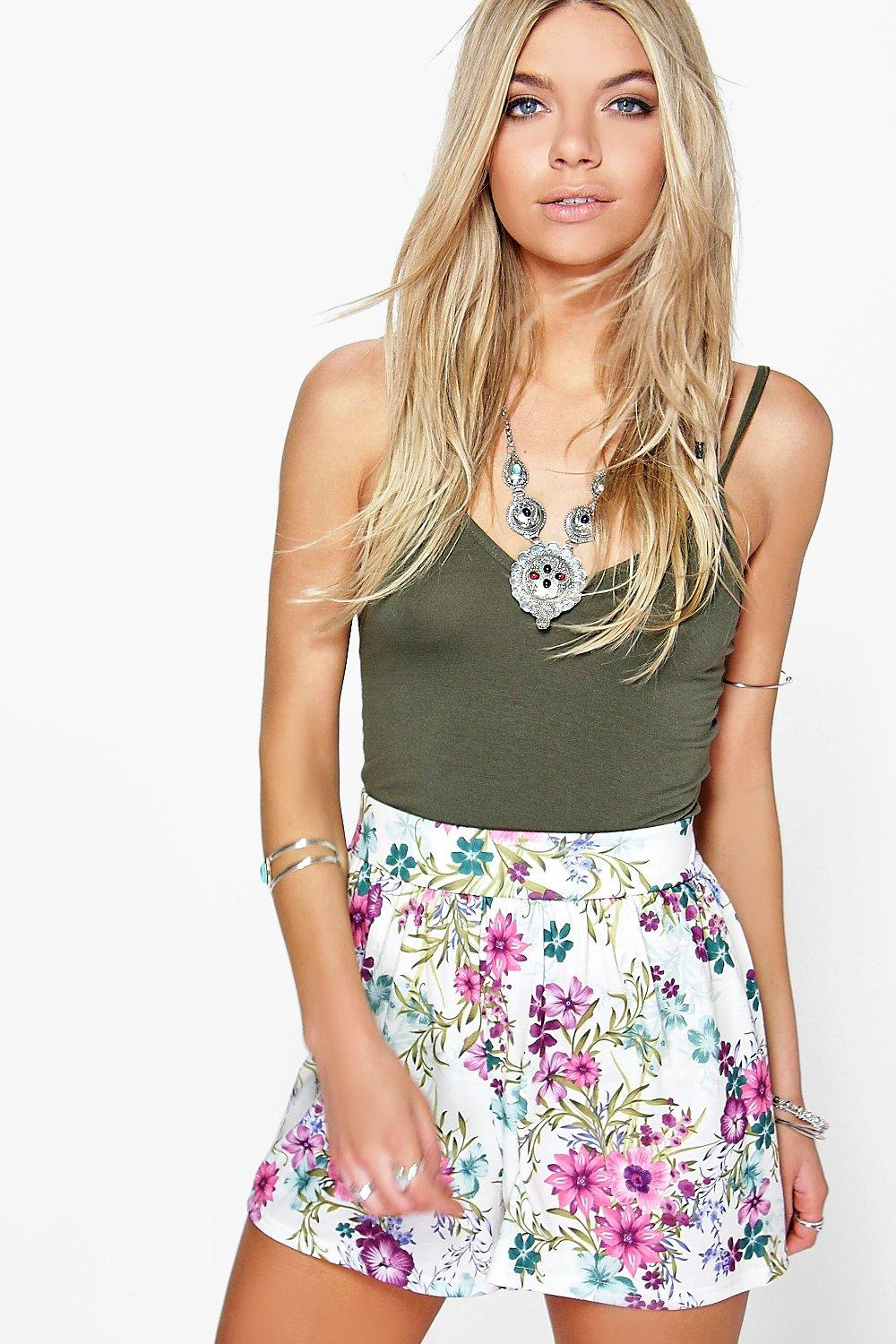 Lucy Floral Flippy Shorts