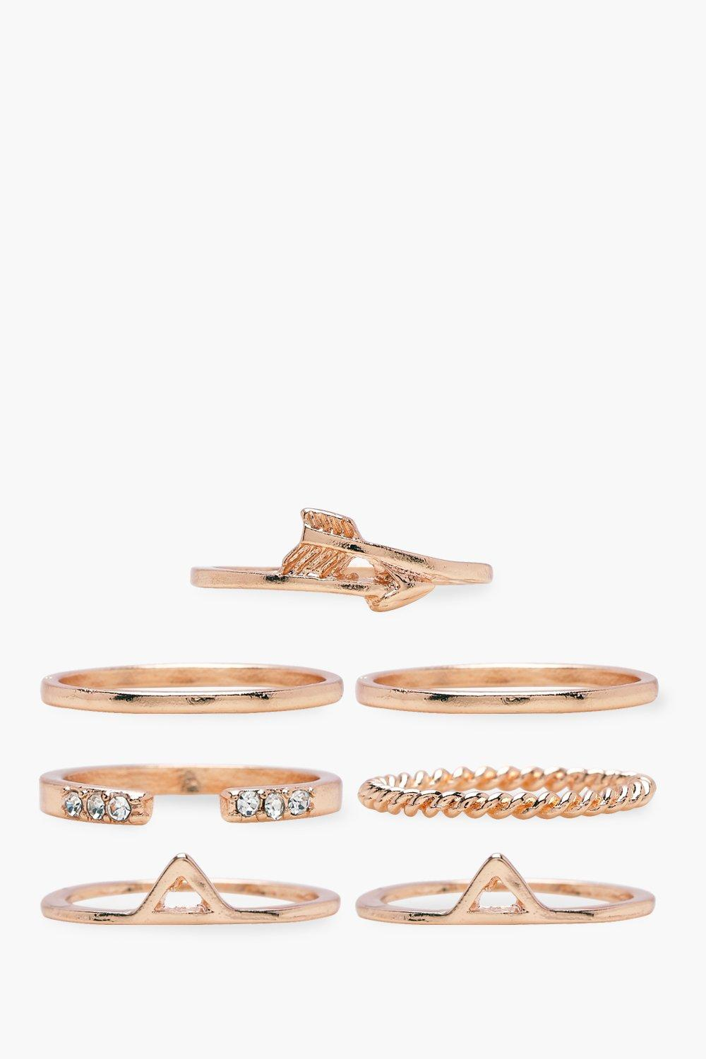 Florence 7 Pack Skinny Ring Pack