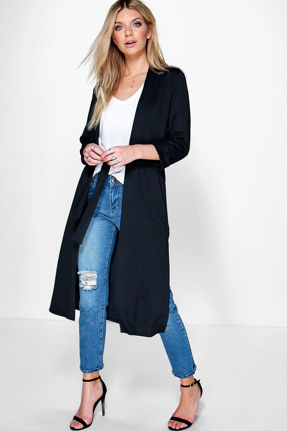 Michelle Belted Maxi Robe Duster