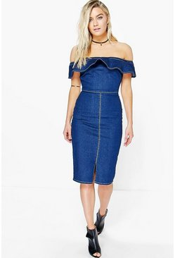 Emily Off The Shoulder Bodycon Dress