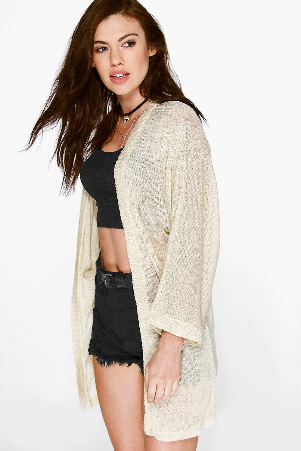 Julia Fine Gauge Oversized Cardigan