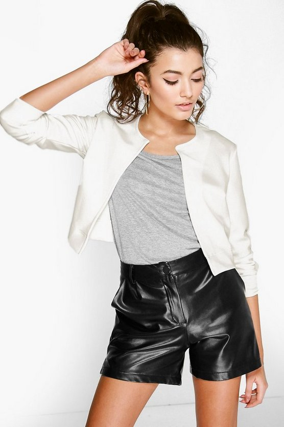 Crop Edge To Edge Jacket