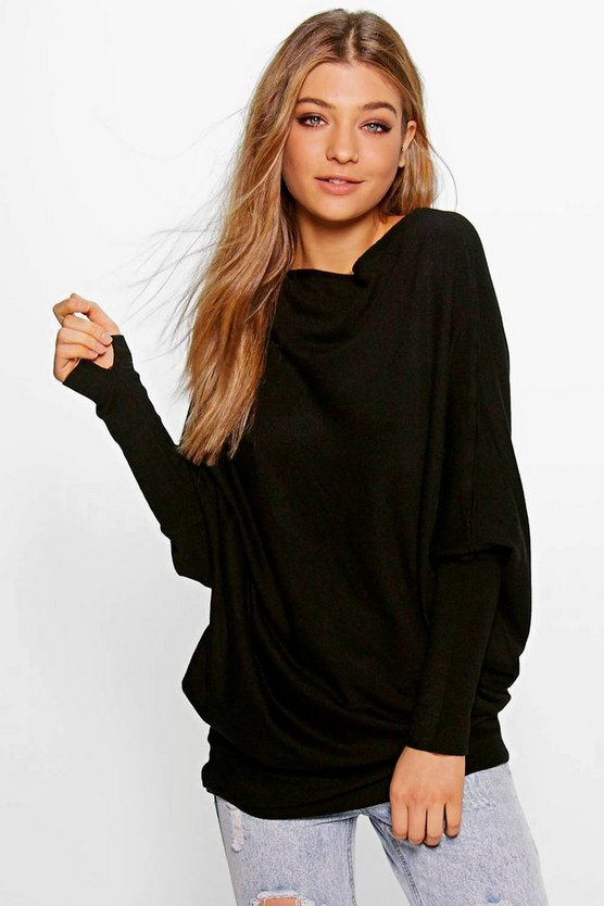 Caitlin Oversized Fine Knit Jumper