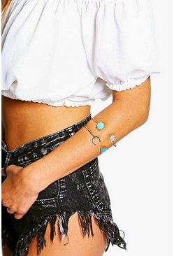Rosie Sun And Moon Arm Cuff Set