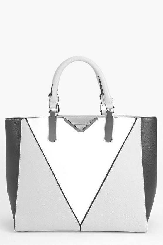 Lola Colour Block Structured Day Bag