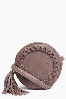 Isla Structured Plait Detail Cross Body Bag