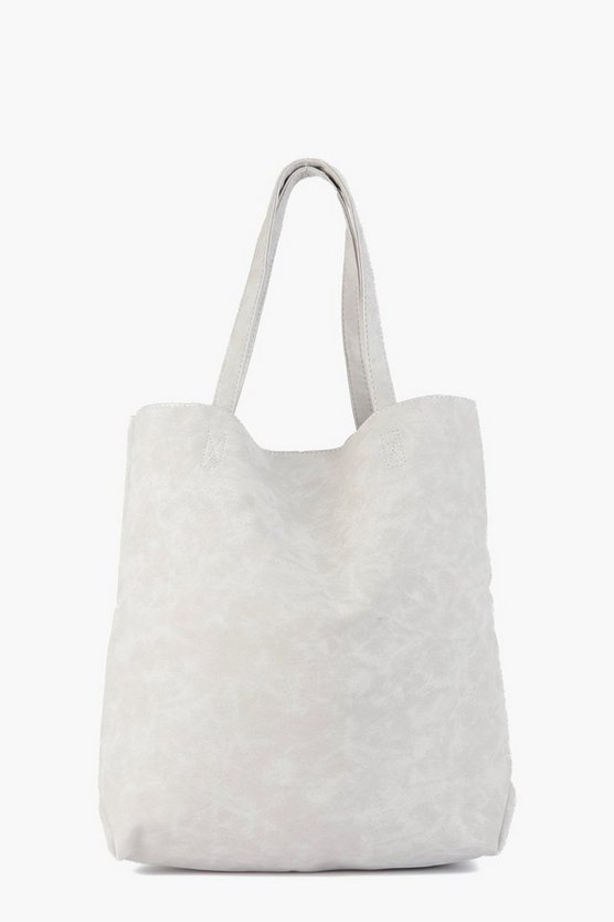 Julia Textured Oversized Shopper Bag