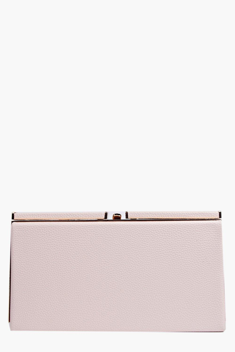 Emma Oversize Box Clutch Bag
