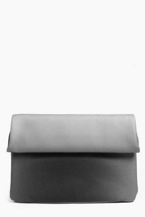 Sadie Roll Top Ombre Clutch Bag