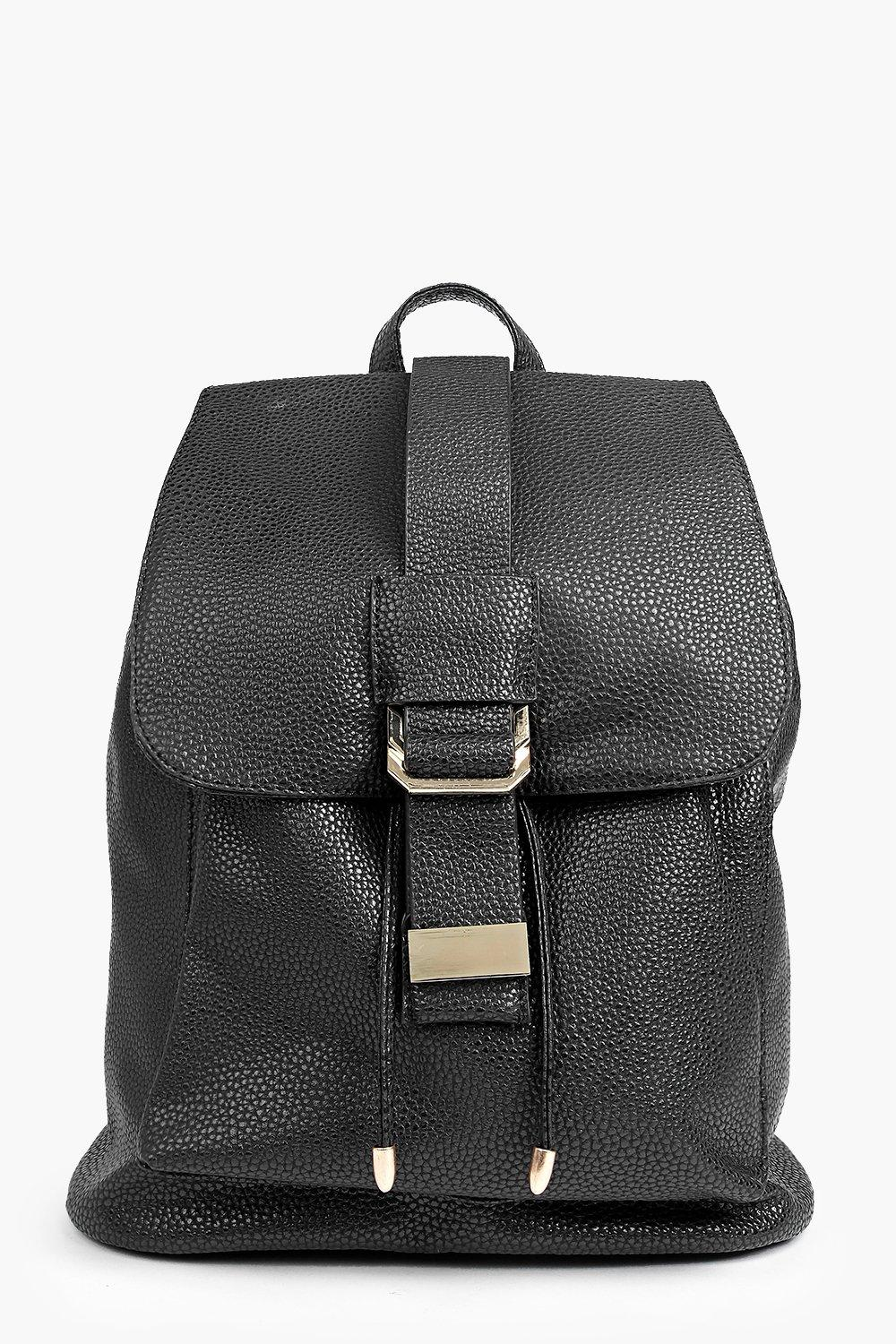 Mia Metal Detail Structured Rucksack