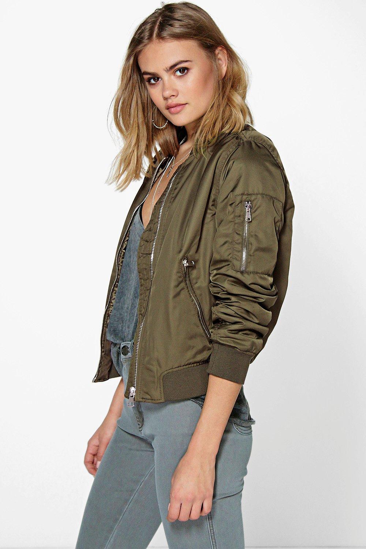 Maisy MA1 Bomber Jacket khaki