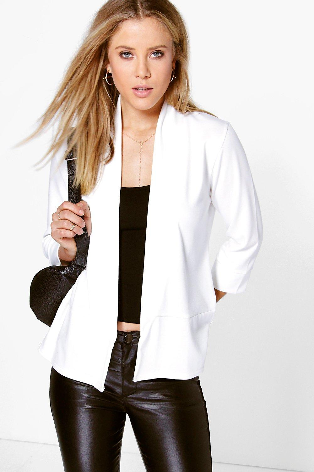 Hollie Plain Ponte Jacket