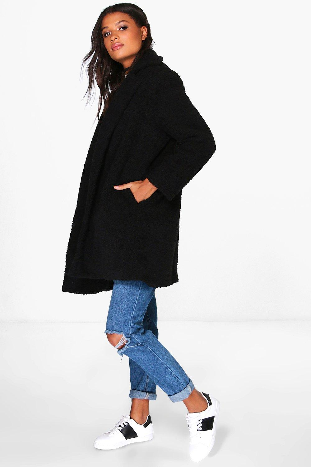 Boutique Louisa Teddy Fur Chuck On Coat
