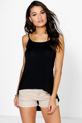 Roxy V Back Oversized Swing Cami
