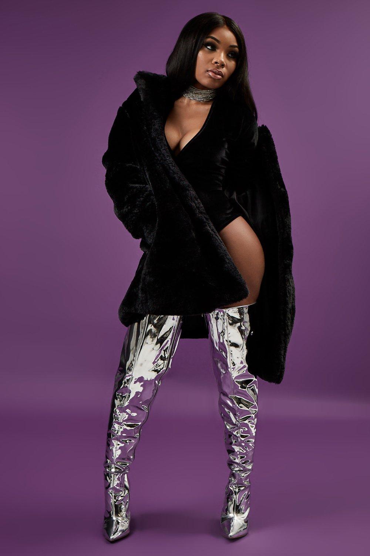 Eva Faux Fur Coat | Boohoo