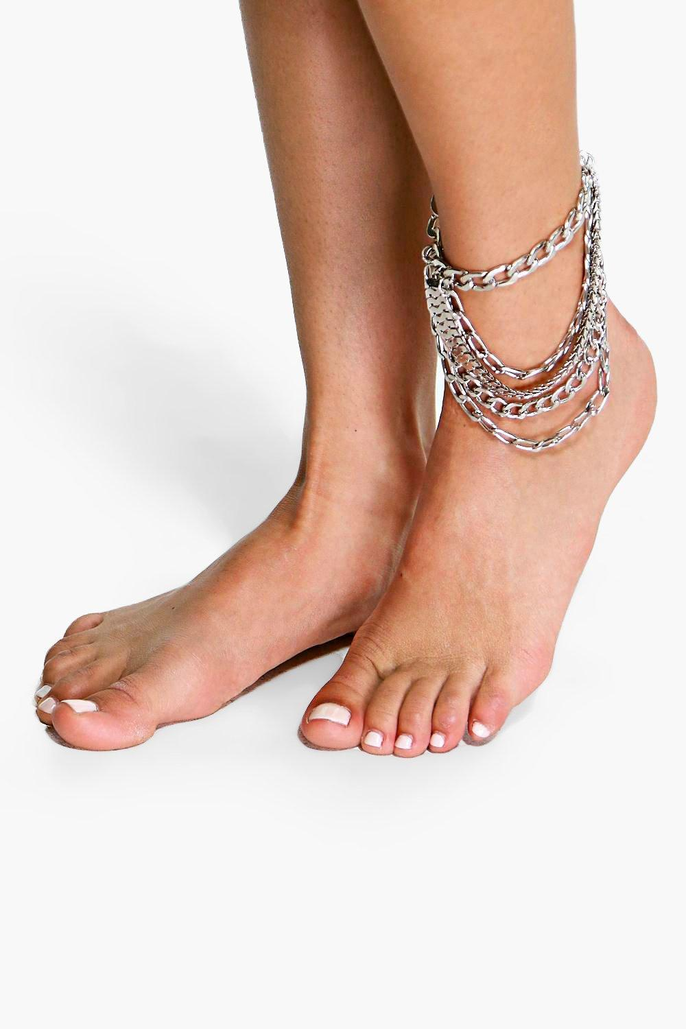 Tilly Multi Chain Drape Anklet