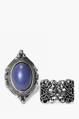 Sofia Stone Detail Ring Pack