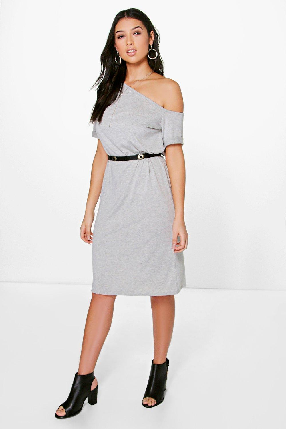 Lizzie Off The Shoulder Midi Dress