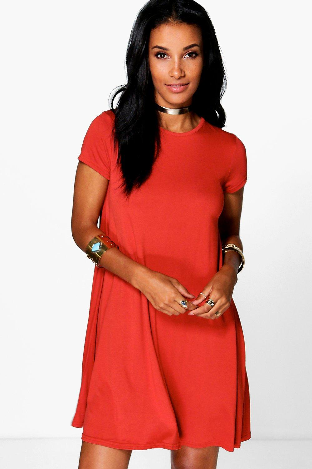 Natalli Cap Sleeve Shift Dress