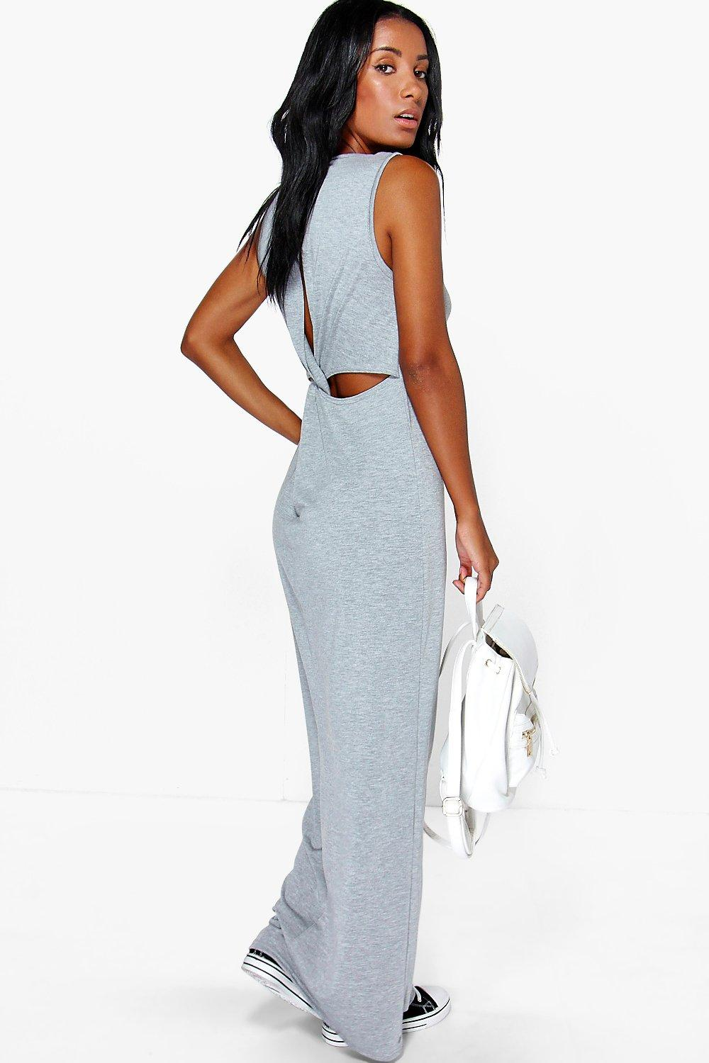 Ria Twist Back Maxi Dress