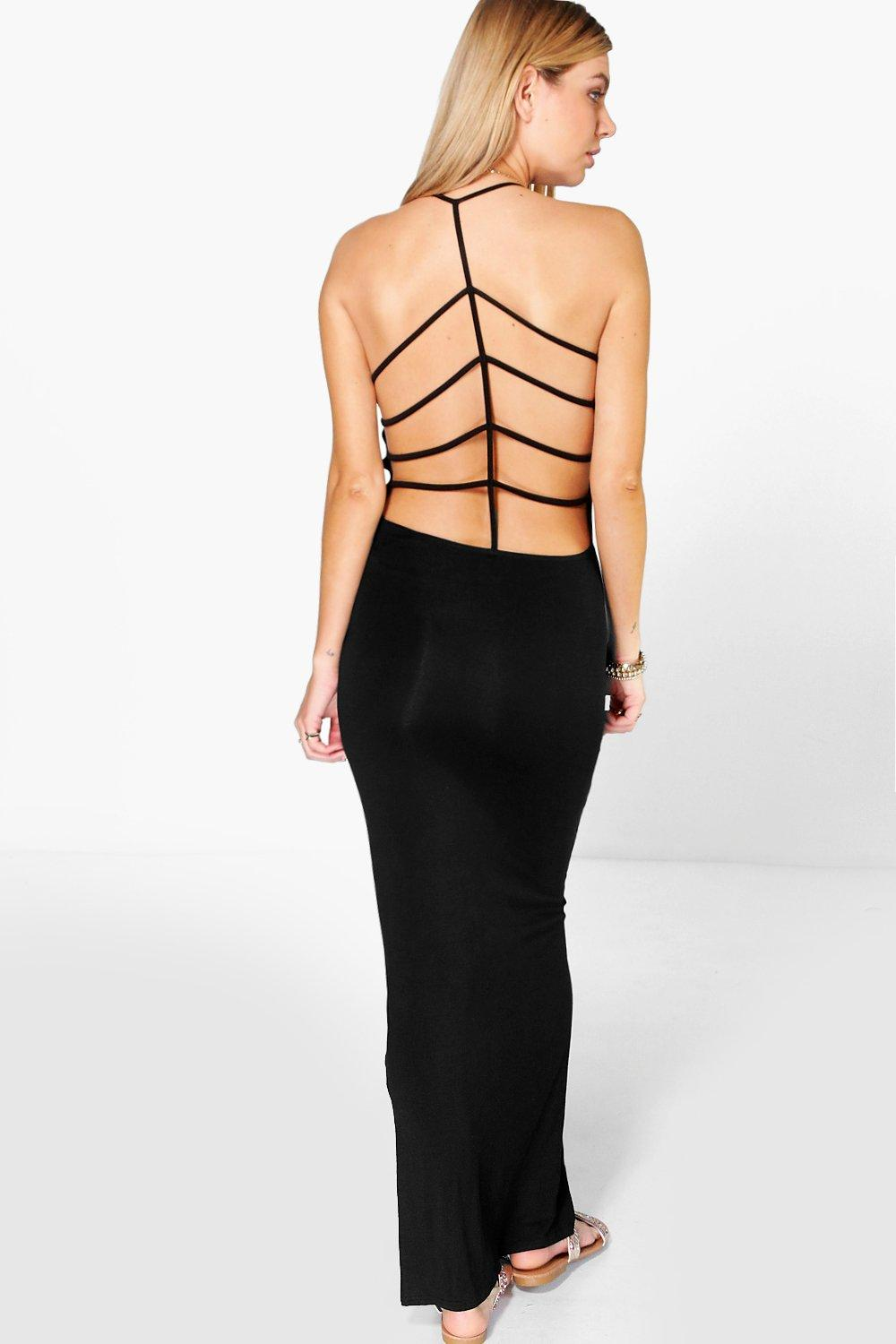 Tanah Strappy Back Maxi Dress
