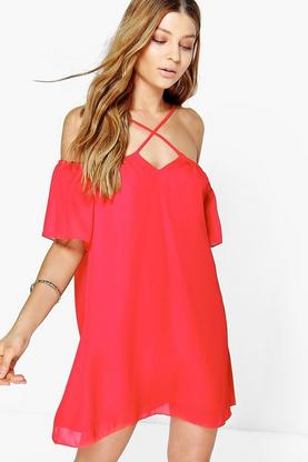 Sofie Strappy Swing Dress