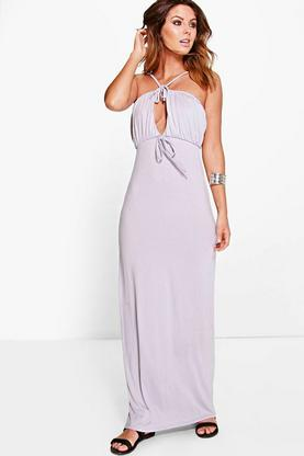 Kellie Strappy Keyhole Maxi Dress