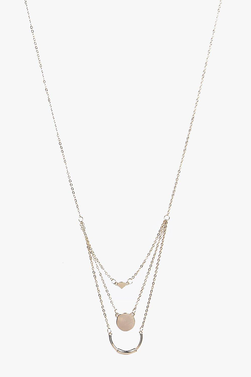 Grace Multi Chain Layered Necklace