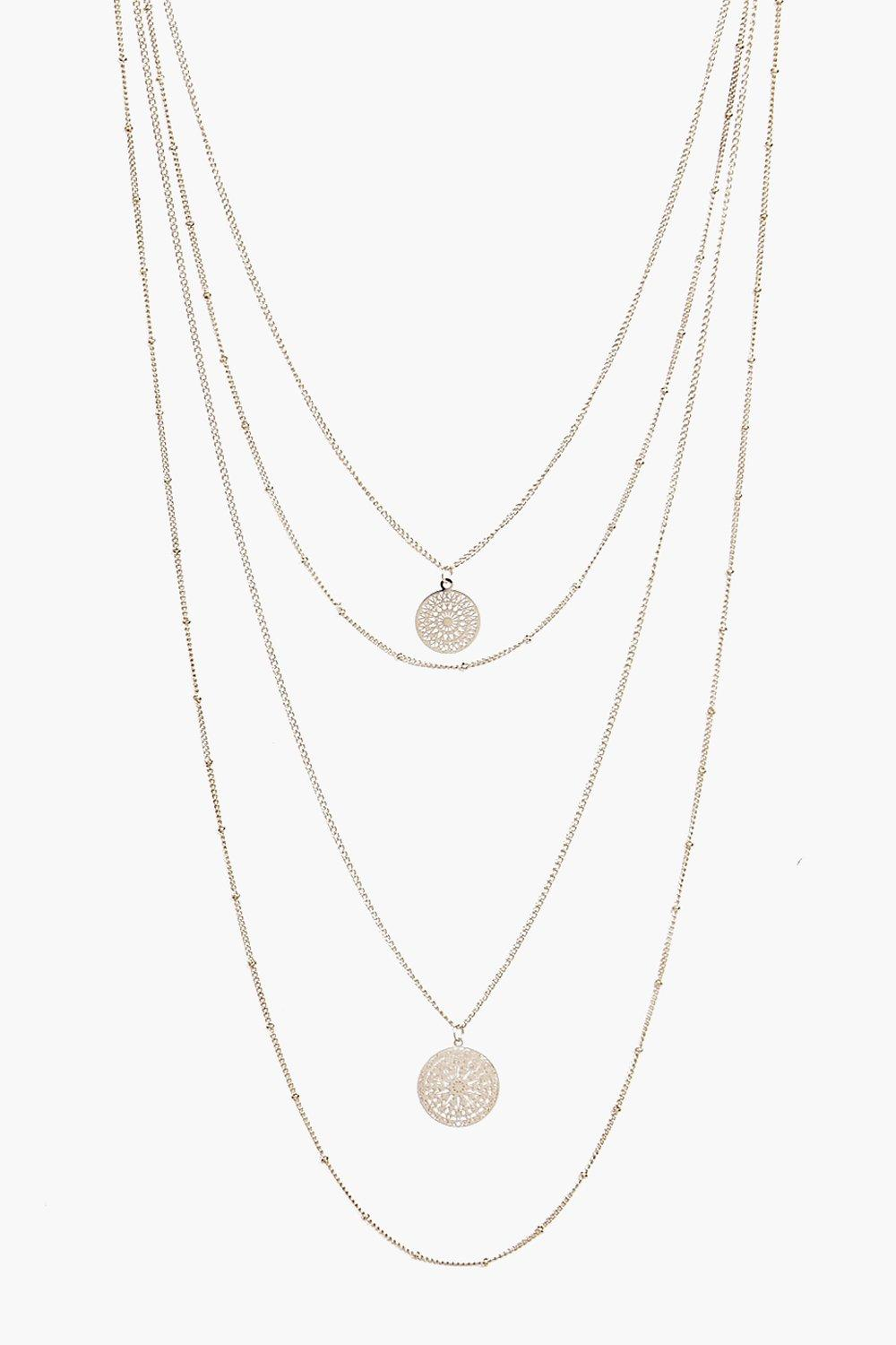 Layla Skinny Coin Necklace Pack