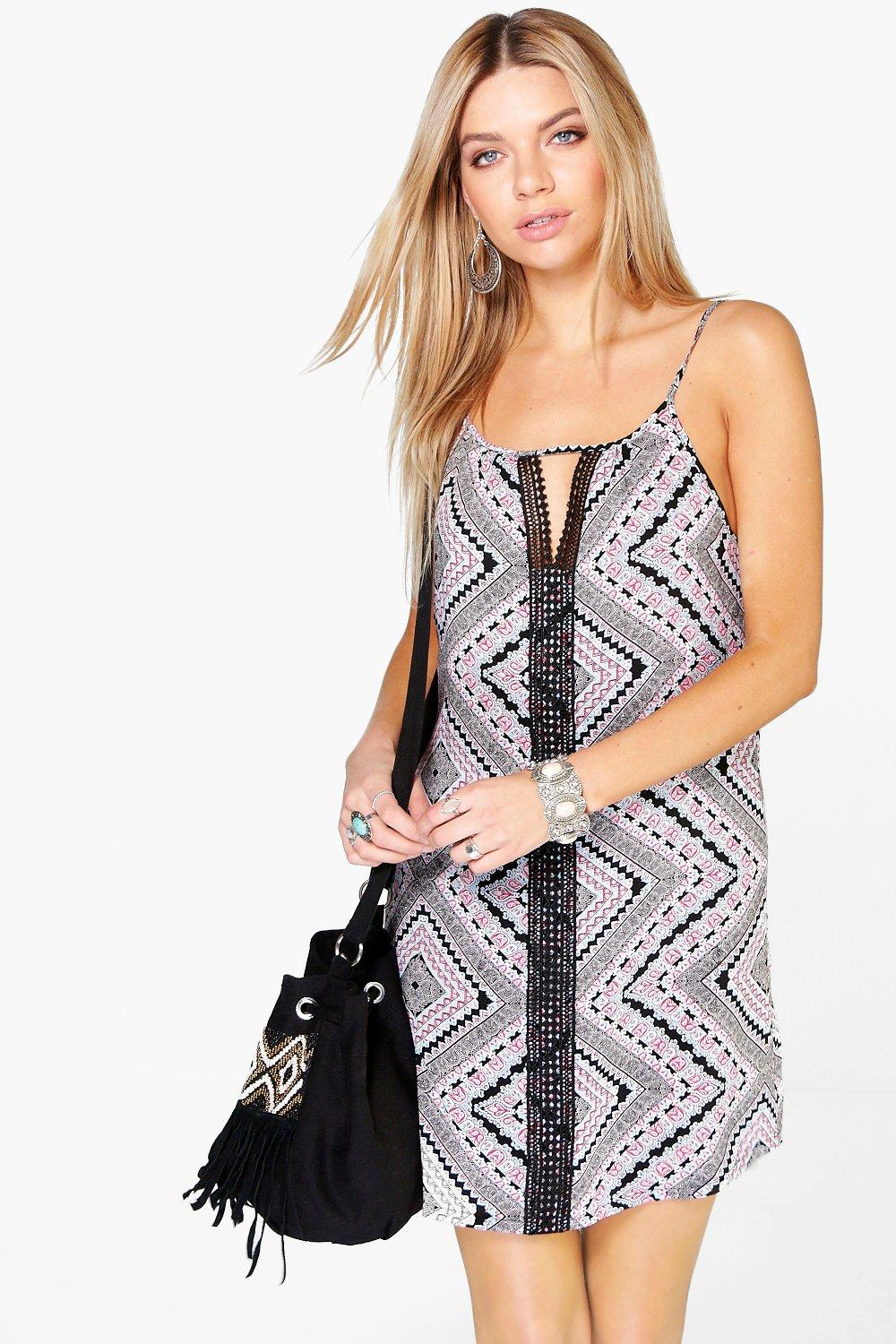 Carina Ethnic Strappy Dress