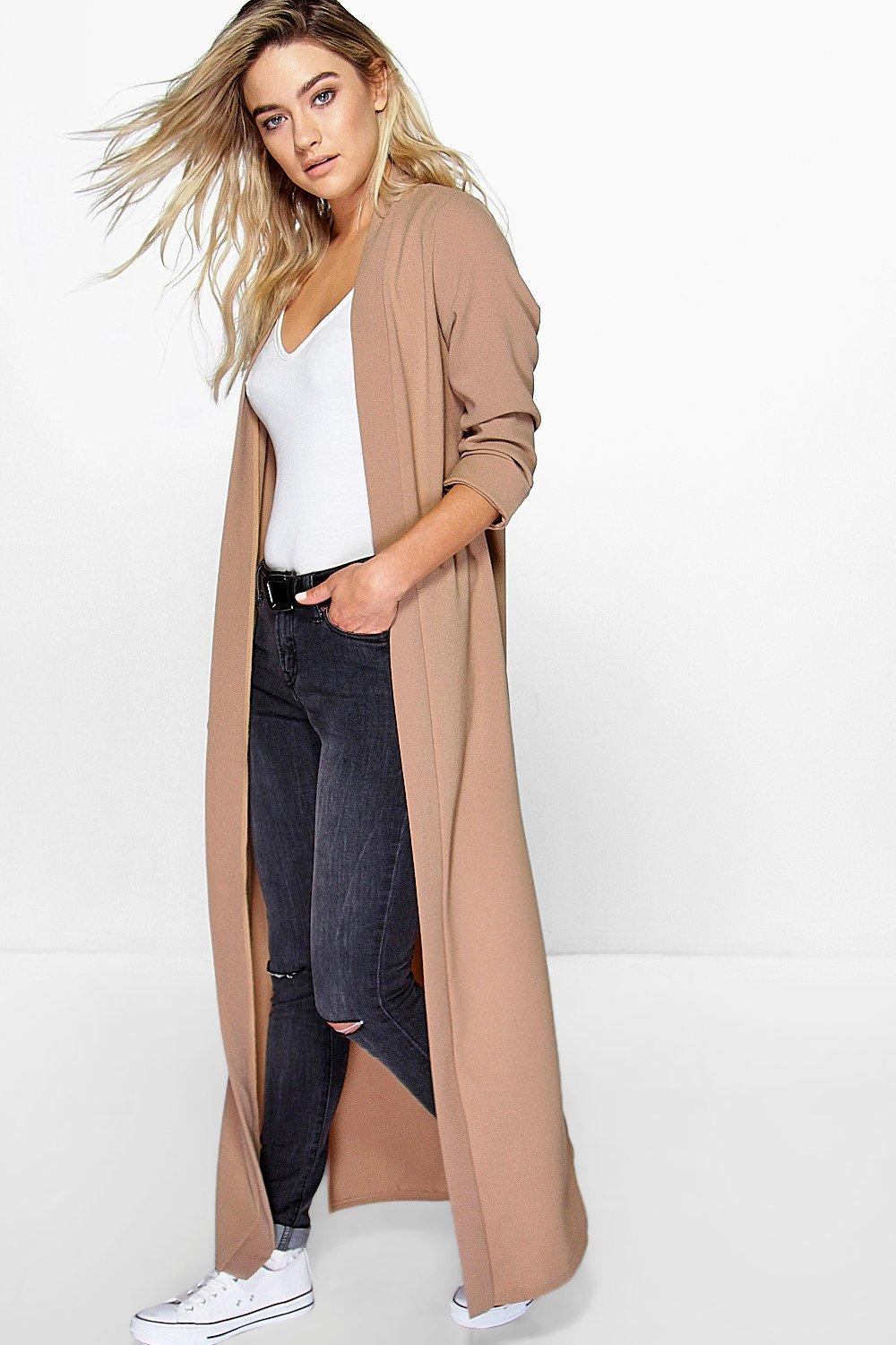 Isabella Turn Up Cuff Maxi Duster