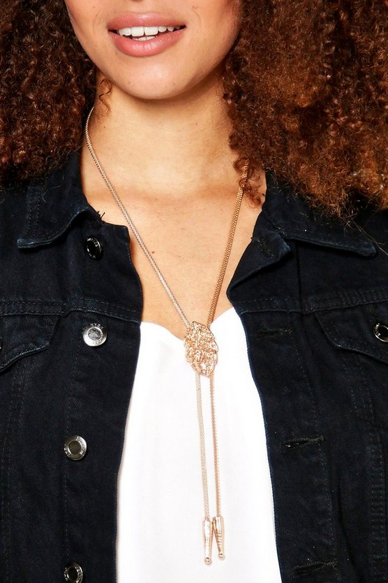Imogen Western Double Plunge Necklace