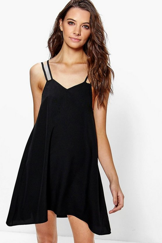 Macarena Strappy Slip Dress