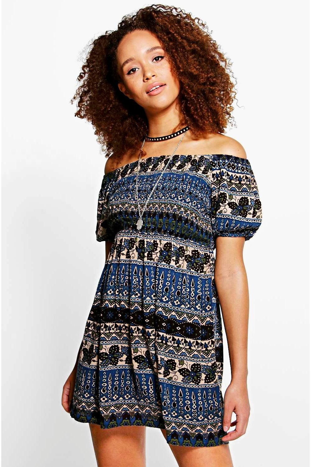 Juliana Off The Shoulder Dress