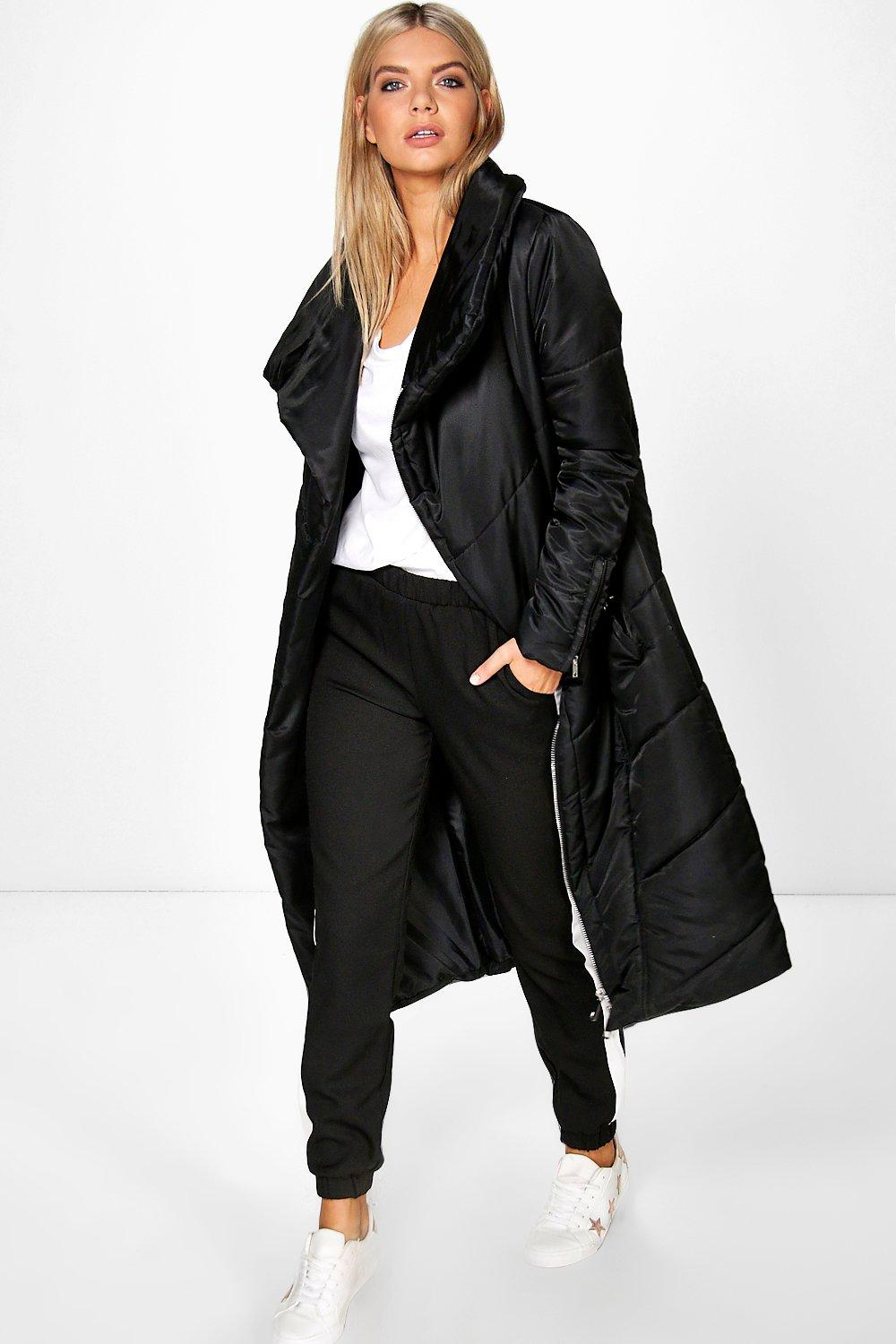 Boutique Millie Longline Duvet Coat