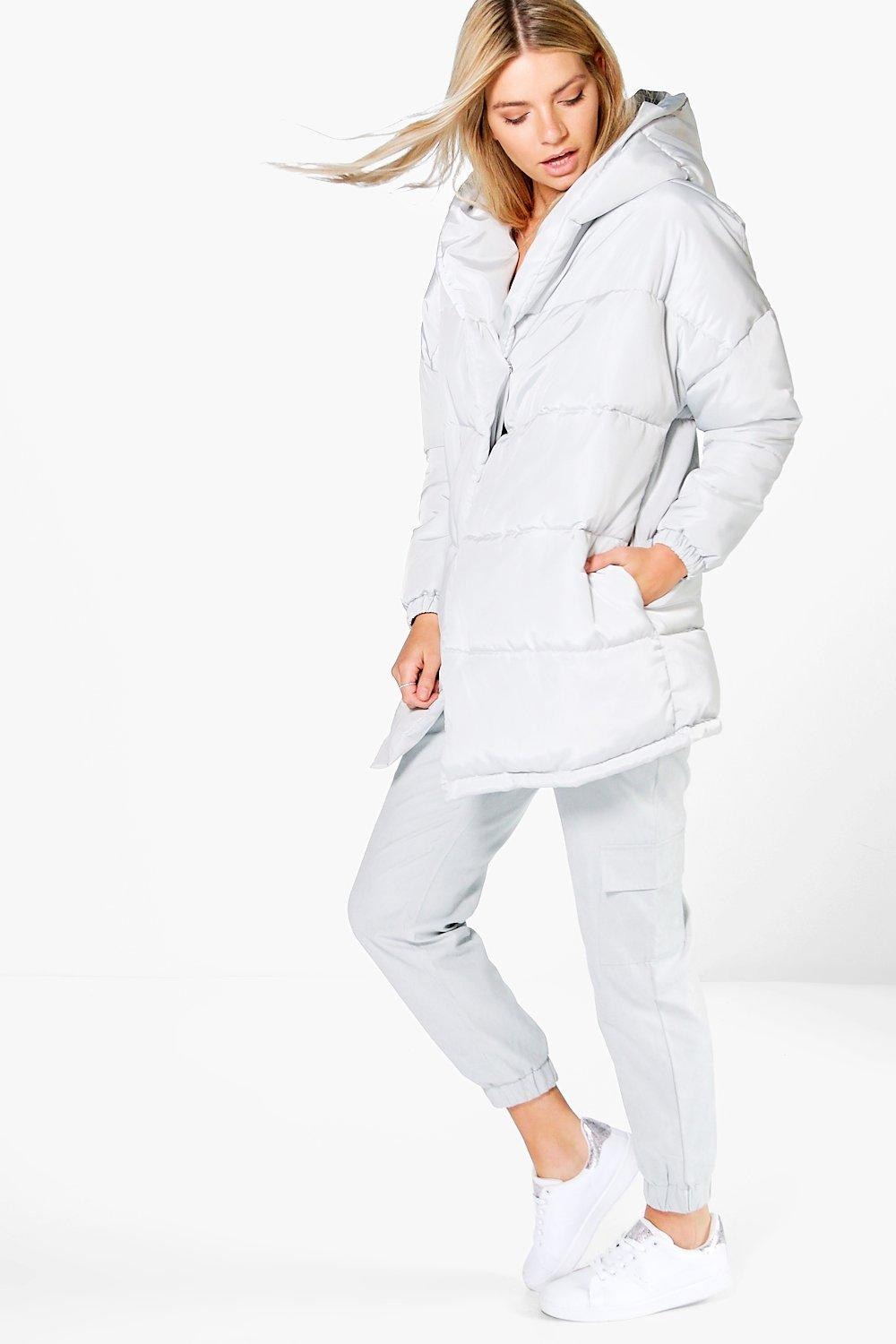 Eva Duvet Coat With Hood