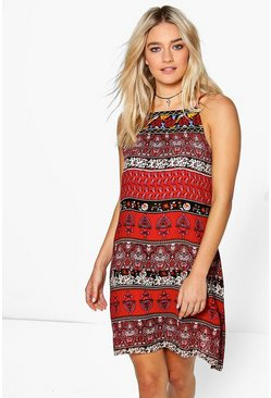 Myra Embroidered Sun Dress