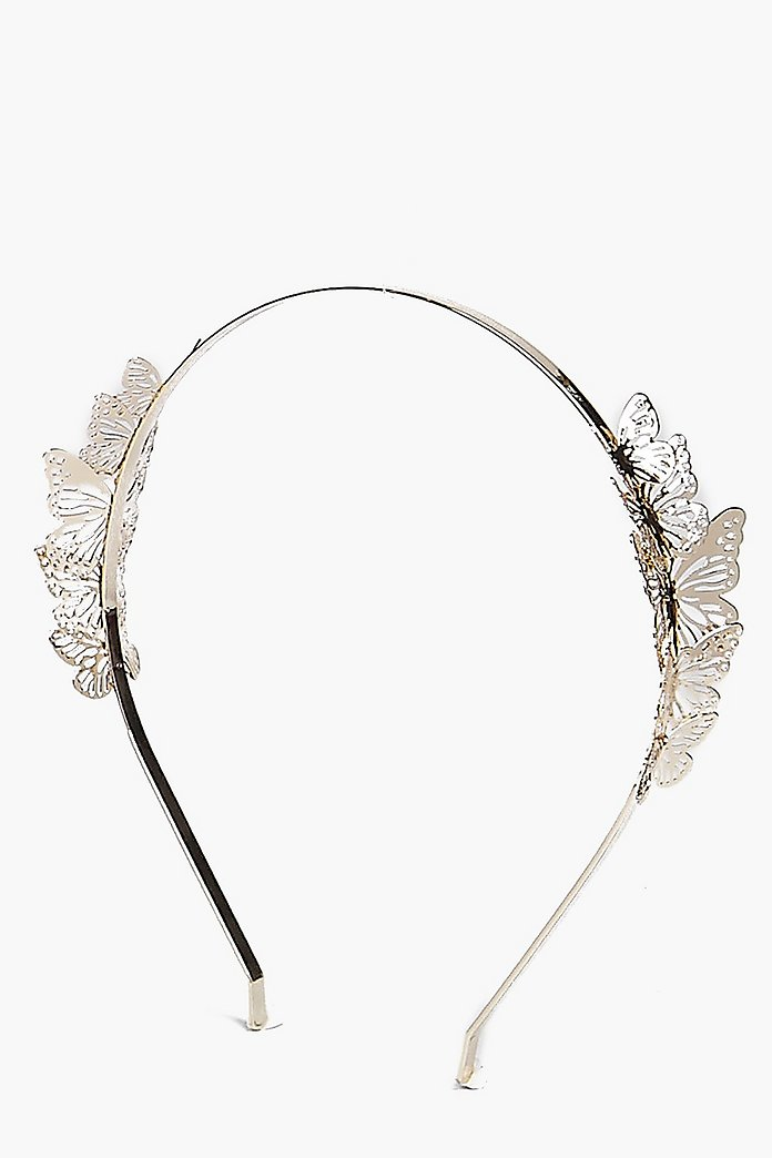Jasmine Butterfly Side Headband
