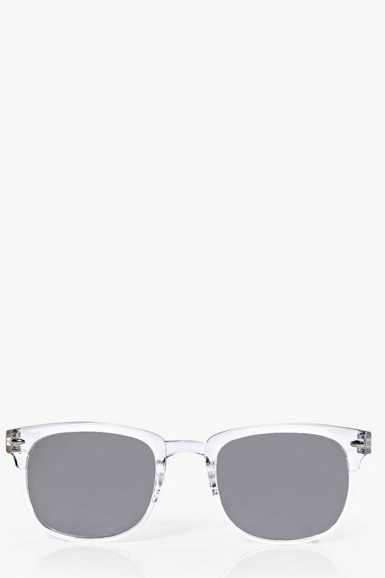 Olivia Clear Frame Sunglasses