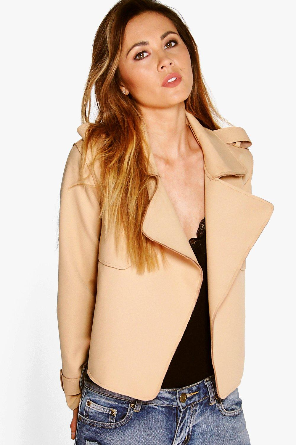 Lillie Bonded Short Trench