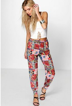 Palermo Festival Floral Relaxed Joggers