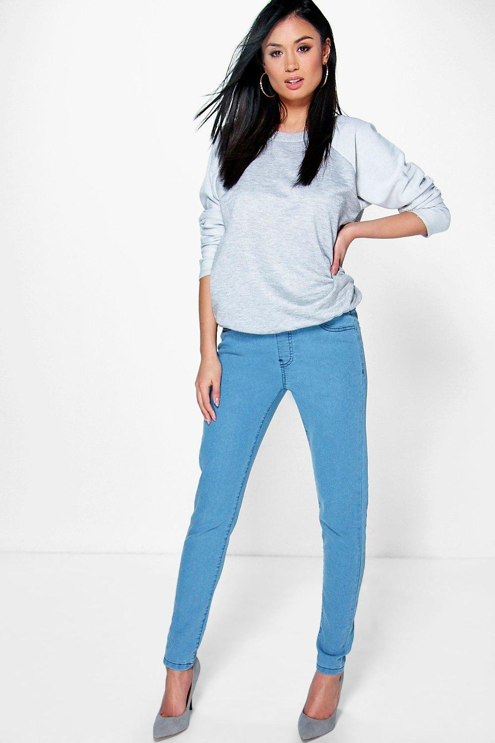 Lacey Pull Up Denim Jeggings