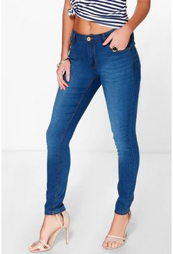 Sally 5 Pocket High Rise Supersoft Skinny Jeans