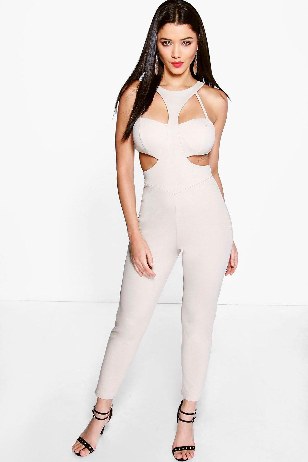 Sophie Cut Work Jumpsuit