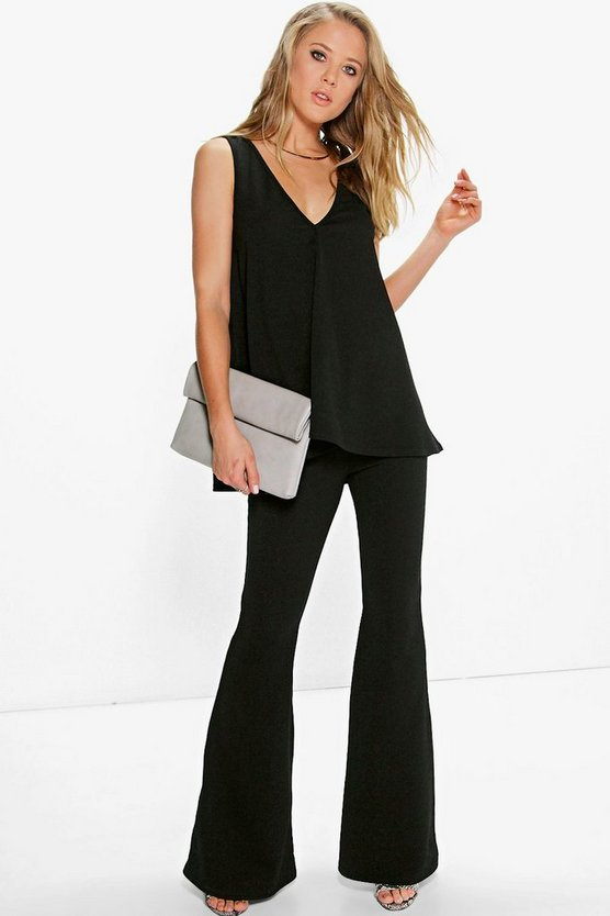Ivy Swing Top & Flared Trousers Co-Ord Set