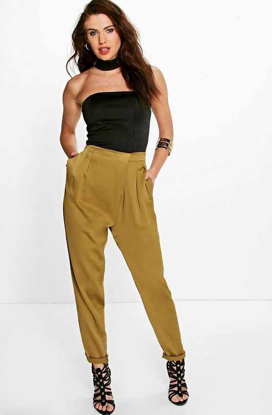 Carmel Wrap Front Tailored Luxe Joggers