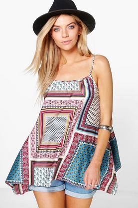 Grace Woven Printed Cami