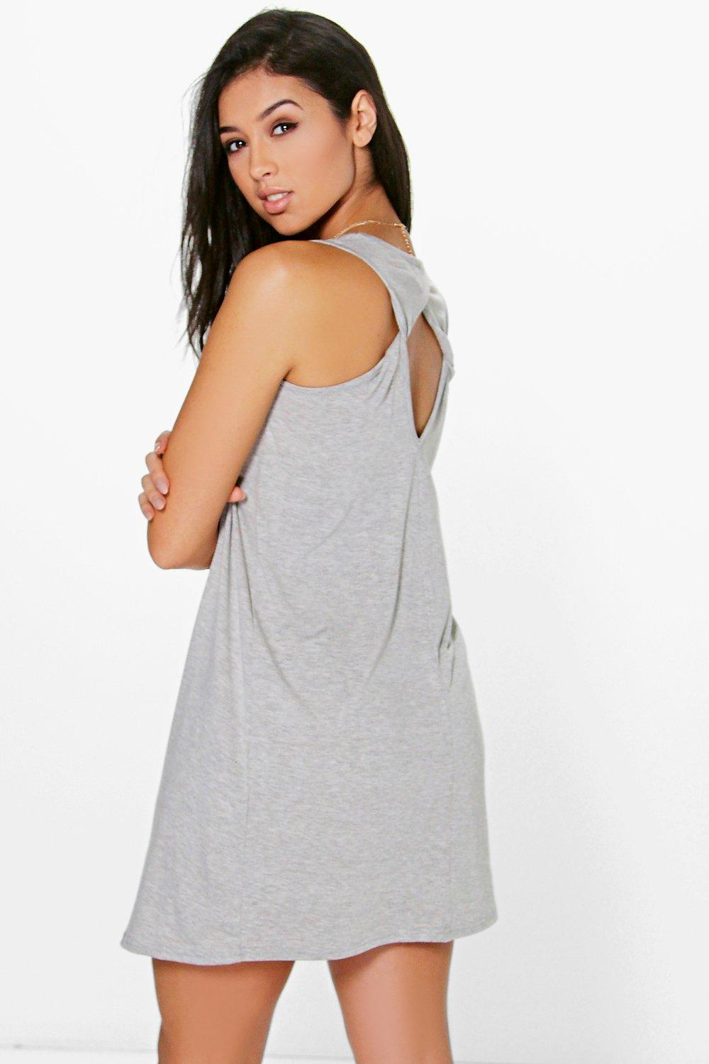 Luce Cut Out Back Shift Dress