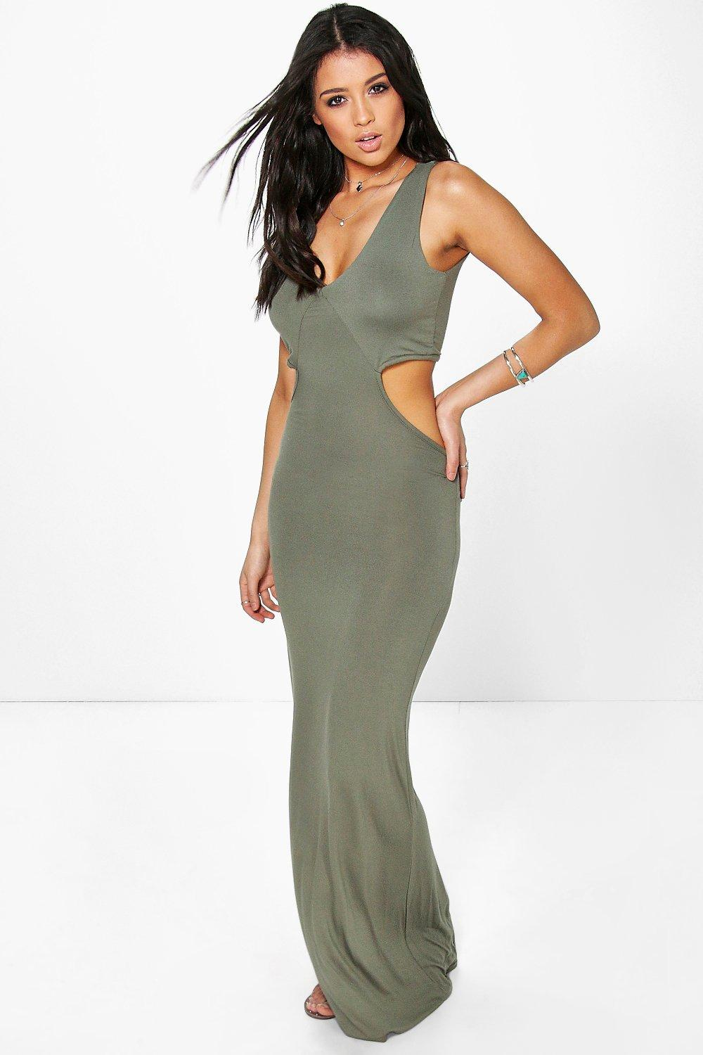 Annabelle Cut Out Side Maxi Dress